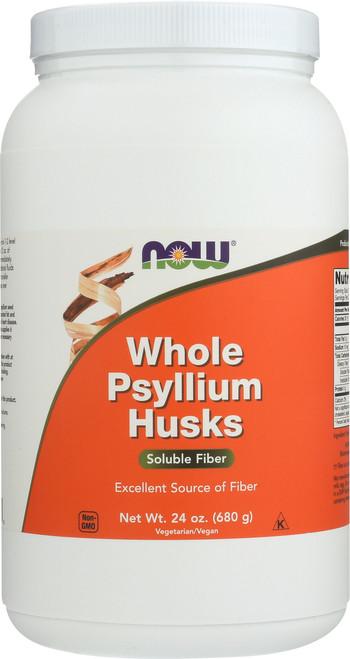 Psyllium Husks Whole Vegetarian - 24 oz.