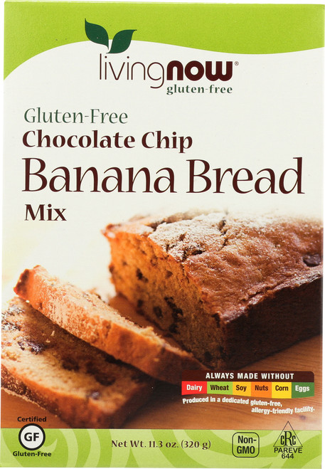 Chocolate Chip Banana Bread Mix, Gluten-Free