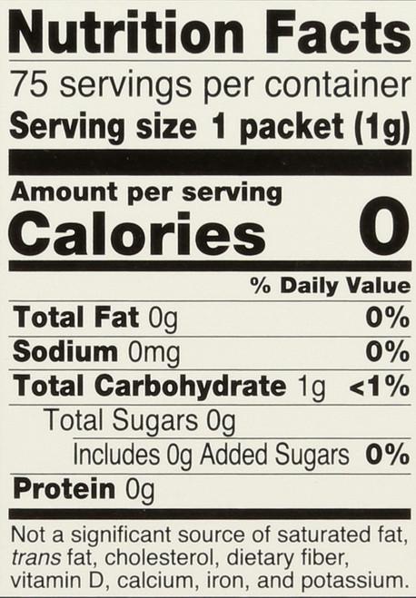 Better Stevia® French Vanilla - 75 Packets/Box
