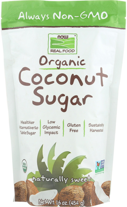 Coconut Sugar, Organic - 16 oz.
