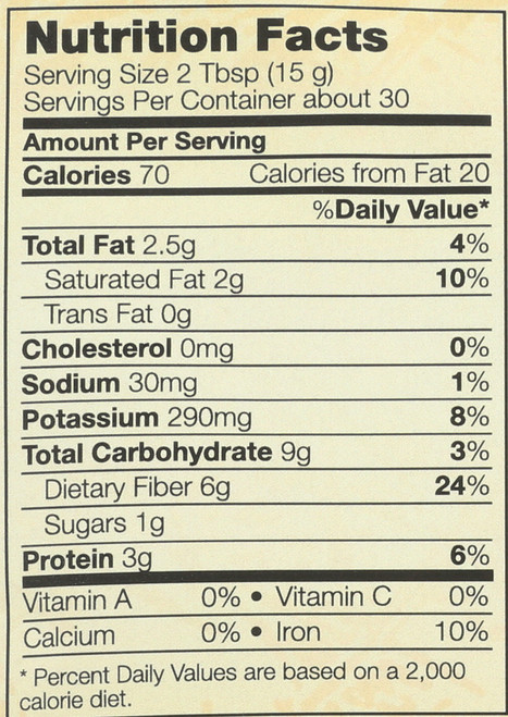 Coconut Flour, Organic - 16 oz.