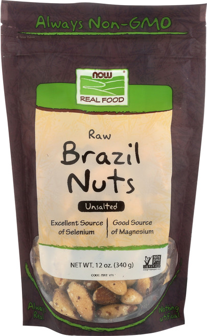 Brazil Nuts, Raw - 12oz