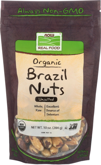 Brazil Nuts, Certified Organic - 10 oz.