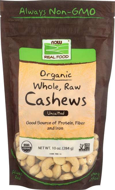 Cashews, Certified Organic - 10 oz.