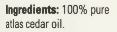 Atlas Cedar Oil - 1 oz.
