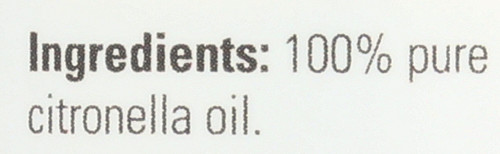 Citronella Oil - 4 oz.