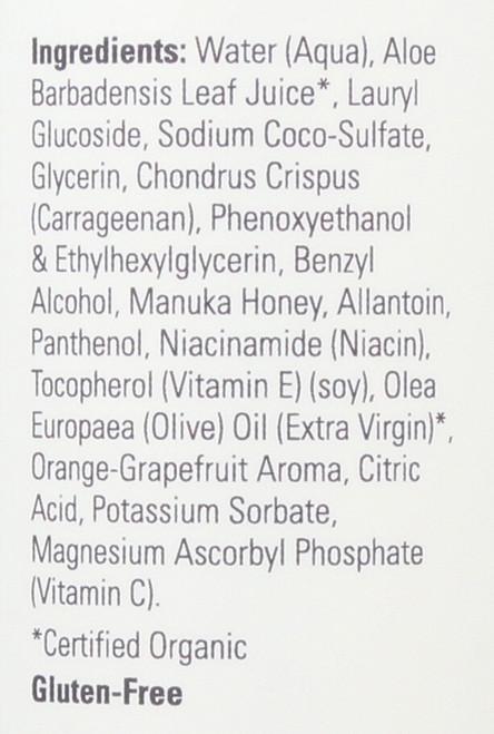 Vitamin C & Manuka Honey Gel Cleanser - 8 oz.