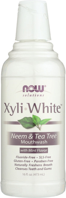 Xyliwhite™ Neem & Tea Tree Mouthwash - 16 oz.