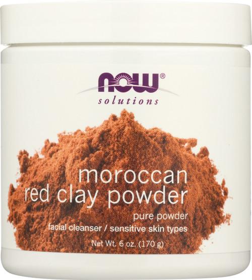 Red Clay Powder Moroccan - 6 oz.
