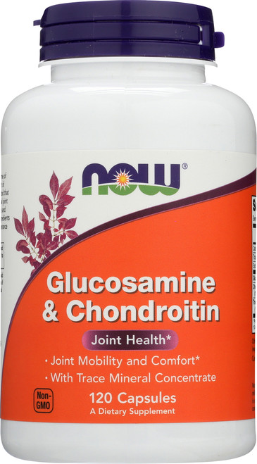 Glucosamine & Chondroitin with Trace Minerals - 120 Capsules