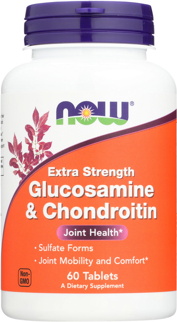 Glucosamine & Chondroitin Sulfate Extra Strength - 60 Tablets