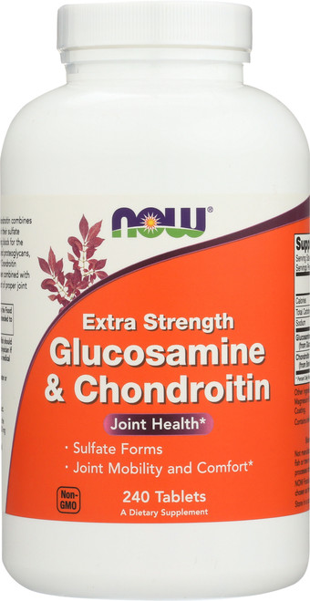 Glucosamine & Chondroitin Extra Strength - 240 Tablets