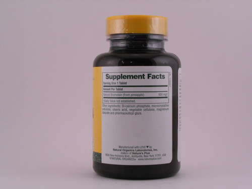 Bromelain 500mg 90 Tablets
