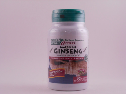 Herbal Actives American Ginseng 250mg 60 VCaps