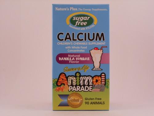 Animal Parade Sugarfree Calcium 90 Chewables