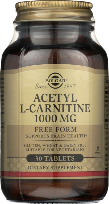 Acetyl L-Carnitine 1000mg 30 Tablets