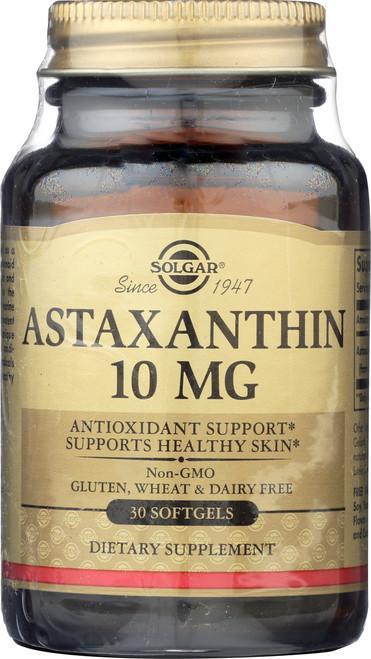 Astaxanthin 10mg 30 Softgels