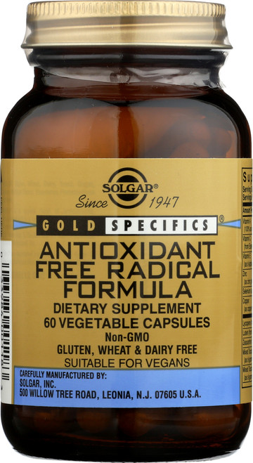 Antioxidant Free Radical Formula 60 Vegetable Capsules