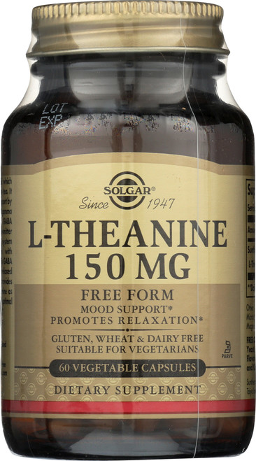L-Theanine 150mg 60 Vegetable Capsules