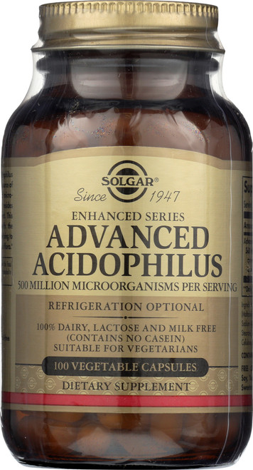 Advanced Acidophilus 100 Vegetable Capsules