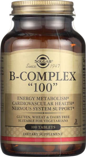 """B-Complex """"100"""" 100 Tablets"""