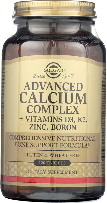 Advanced Calcium Complex 120 Tablets**