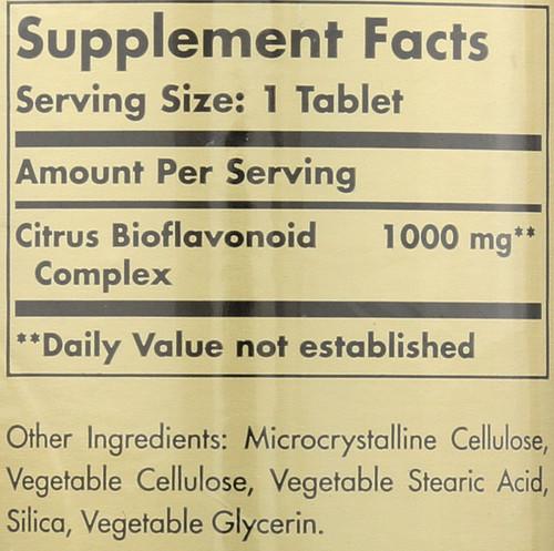 Citrus Bioflavonoid Complex 1000mg 250 Tablets