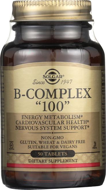 """B-Complex """"100"""" 50 Tablets"""