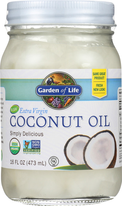 Extra Virgin Coconut Oil 16oz Oil
