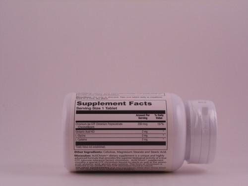 ActiChrom GTF Chromium 200 mcg 100 Tablets