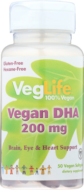 Dha, Vegan 50 Vegan Softgels
