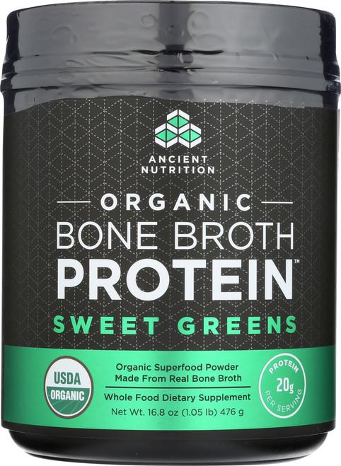 ORGANIC BONE BROTH PROTEIN - SWEET GREENS