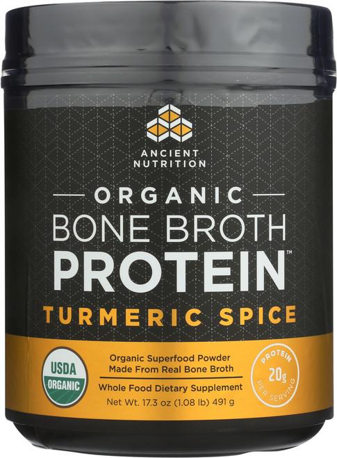 ORGANIC BONE BROTH PROTEIN - TURMERIC SPICE