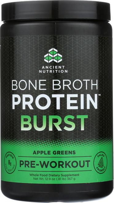 BONE BROTH PROTEIN BURST - APPLE GREENS