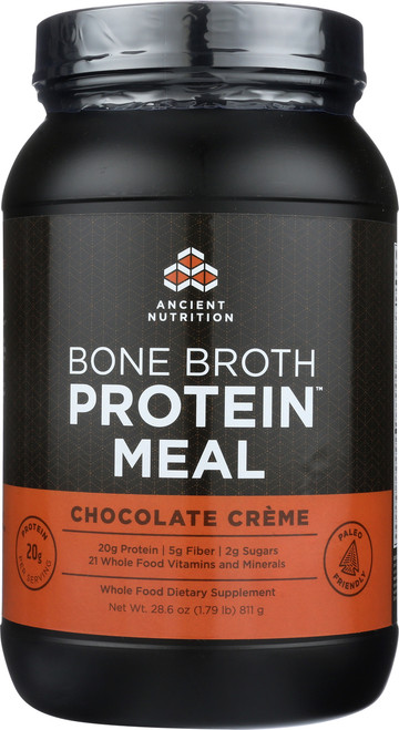 BONE BROTH PROTEIN MEAL - CHOCOLATE CRÈME