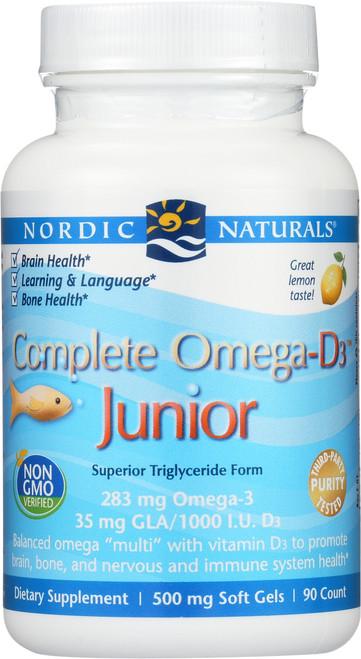Nordic Naturals COMPLETE OMEGA-D3™ JUNIOR