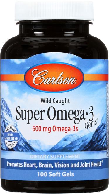 Fish Oil - Super Omega-3 Gems® - 250 Soft Gels