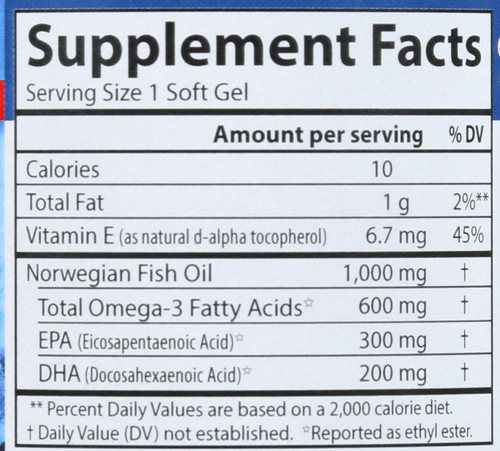 Fish Oil - Super Omega-3 Gems® - 100 Soft Gels