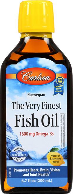 Fish Oil - Kid'S Lemon Very Finest Fish Oil - 6.7 Fl Oz.
