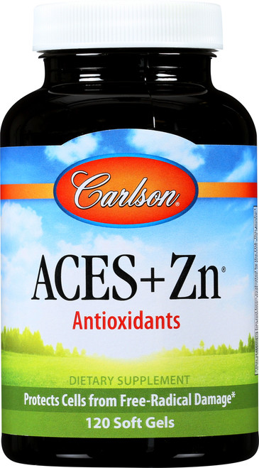 Antioxidants - Aces + Zn® - 180 Soft Gel