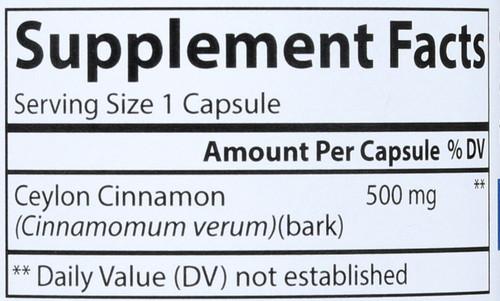Ceylon Cinnamon -  - 90 Capsules
