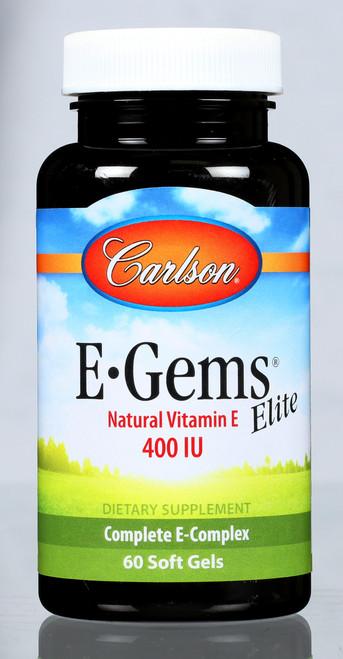 E-Gems® Elite - Natural Vitamin E 400 Iu - 120 Soft Gel