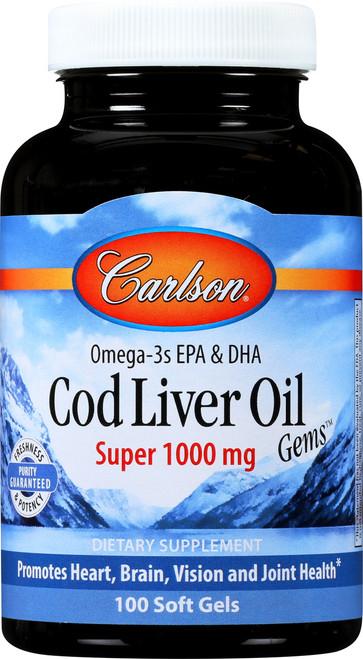 Cod Liver Oil - Super - 250 Soft Gel