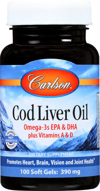 Cod Liver Oil -  - 250 Soft Gel