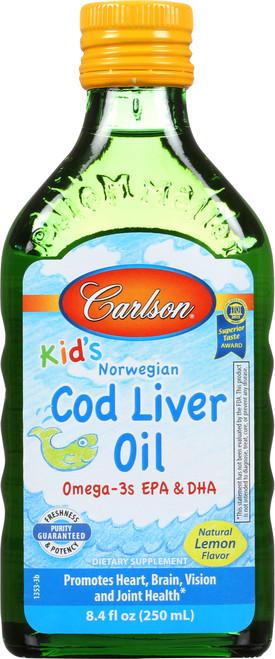 Cod Liver Oil - Fruit Splash - 8.4 Fluid Ounce