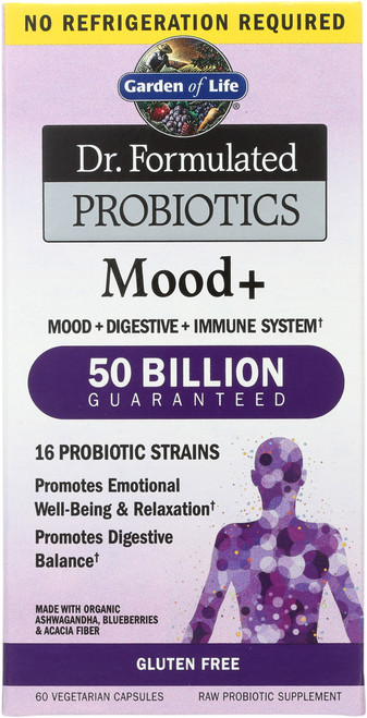 Dr. Form. Mood+ Non-Refrigerated 60 Count