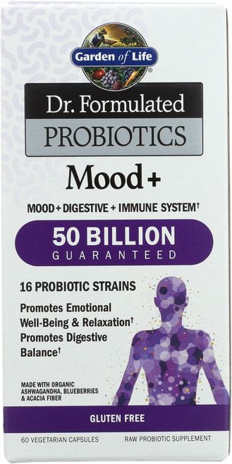 Dr. Formulated Probiotics Mood+ 60 Capsules