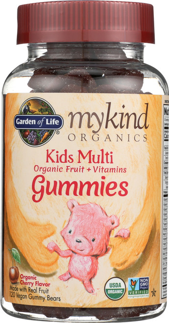 mykind Organics Kids Multi Gummies 120 Count