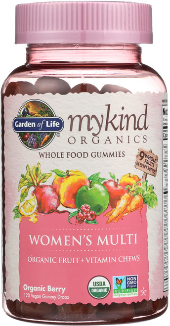 mykind Organics Womens Multi Gummies 120 Count