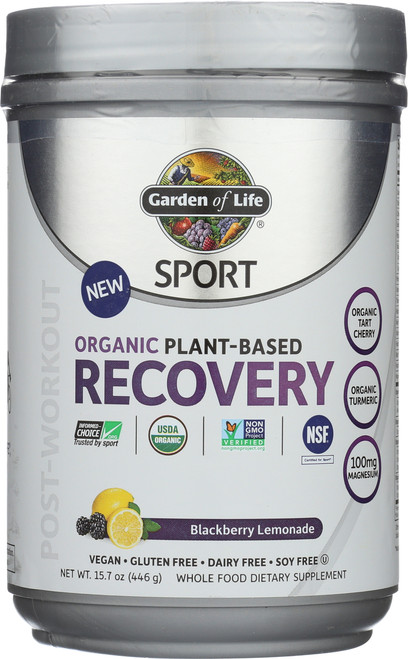 Organic Plant-Based Recovery - Blackberry 446G Powder